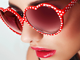 商业眼镜广告精修教程