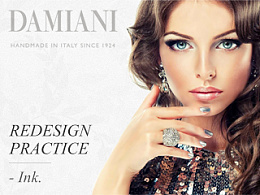 DAMIANI Web Redesign Practice