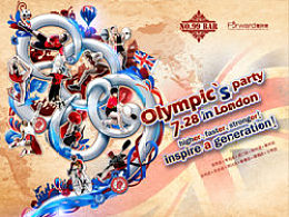 酒吧奥运海报设计思路方法!
