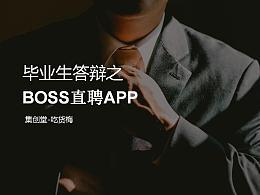BOSS直聘APP产品分析——集创堂吃货梅