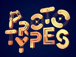 30个3D字体创意设计