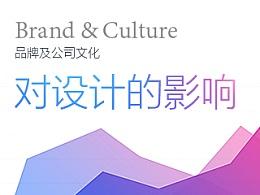 品牌及公司文化对设计的影响