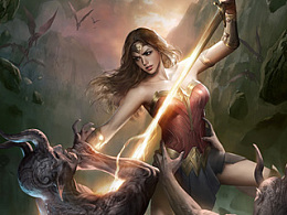 《神奇女侠》海报创作步骤及教程