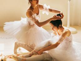师法古典艺术1——灵感来自德加的芭蕾舞女