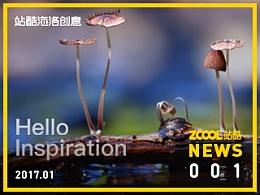 """站酷海洛创意新功能上线 """"你好,灵感""""精选专辑国内首发"""