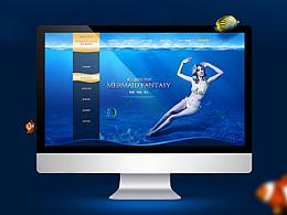 海底主题的泳装品牌