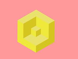Illustrator绘制立体感的几何图形教程