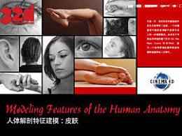 32d杂志更新到17了啊!人体解剖特征建模: 皮肤