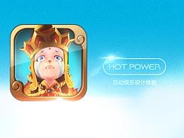 放开那唐僧游戏ui设计-hot power