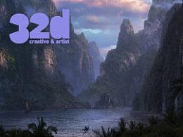 32d杂志更新到13.5!本期2d教程——接景绘画:合成天空