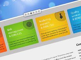 优秀网页教程(1)如何创建一个绚丽多彩的商业Web页面