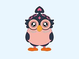 鴞卣青铜器卡通形象