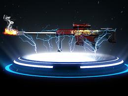 天铭 八音枪玩具系列产品三维动画3D展示宣传片