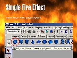 快速制作真实的火焰燃烧动画效果