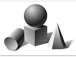 coreldraw x8绘制素描几何图形 by wangdan1469图片