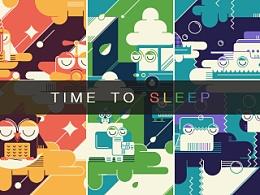 是时候睡觉了(time to sleep)