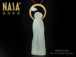 奈莎NASA珠宝原创设计引领东方文化艺术珠宝新格度作品《圆觉》