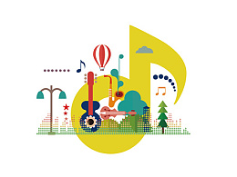 常州天鹅湖音乐小镇品牌形象设计