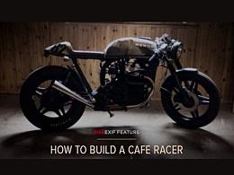 """如何打造一辆""""血统""""纯正的Cafe Racer"""