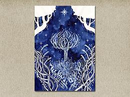 白樹+繪畫過程動圖