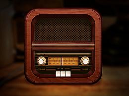 四步打造复古收音机图标