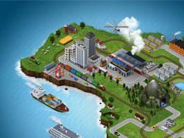 三维城市地图生成制作PS软件插件(含高清视频教程)|3D Map Generator GEO