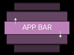 """浅谈Pixate里如何实现""""App/Top Bar""""跟随list运动的效果"""