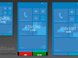 Windows Phone 8 分辨率机制初探