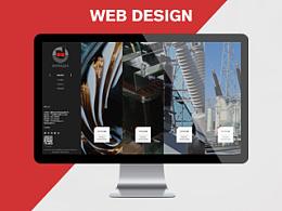 网站设计作品 首页排版