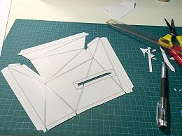 展位纸膜制作过程分享