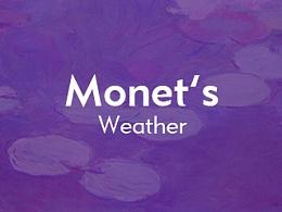 Monet's Weather