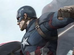 《美国队长:英雄内战》海报创作步骤与教程