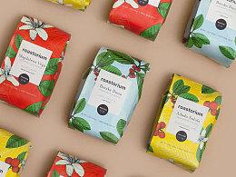 成都摩品包装设计公司-Roastorium咖啡豆包装设计欣赏分享