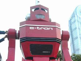 大家都是汽车人~金属诱惑受奥迪汽车公司之托为其打造铁皮机器人