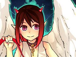 《可爱的天使恶魔》绘画教程