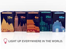 《照亮世界每个角落》概念包装