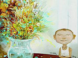 【那些花】。。。吉祥物语插画教程视频下载