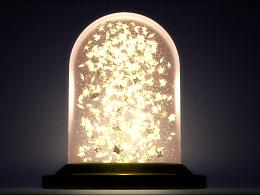 houdini使用粒子系统制作《小王子》中的星星收集瓶