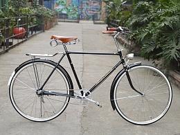 老凤凰28寸自行车改装内三速复古自行车