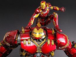 钢铁侠系列雕像 -- 反浩克&MK43