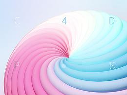 学C4D 019  制作漂亮的螺旋元素