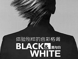 体验别样的色彩格调:黑与白