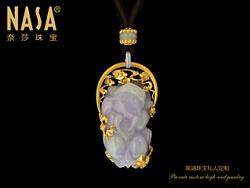 原创作品:奈莎NASA珠宝原创设计引领东方文化艺术珠宝新格度作品《祥云万顷映春媚》