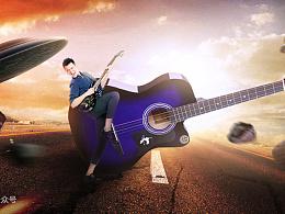 ROCK!我的小宇宙,吉他banner合成