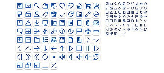 UI小图标01-PNG图标-网页常用-图标