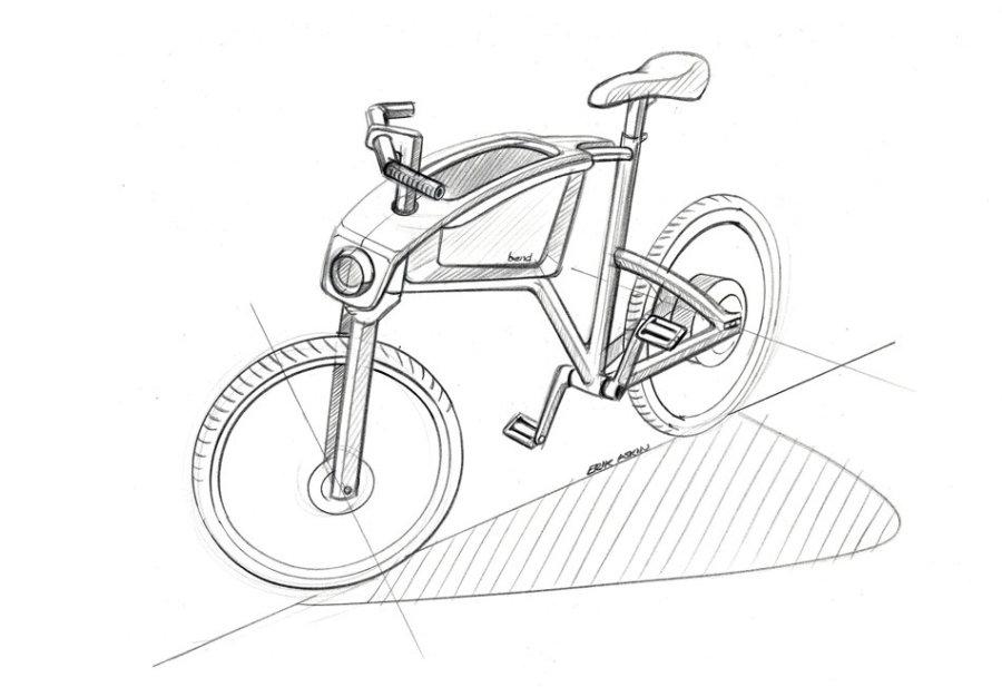 德国工业设计手绘线稿