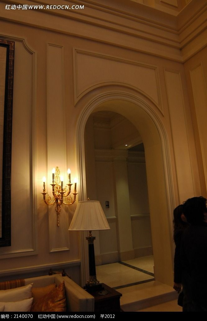 欧式墙面客厅高清图图片