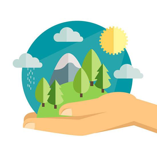 地理分享 自然地理环境基础五要素复习要点