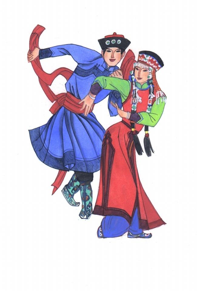 蒙古族的服饰文化