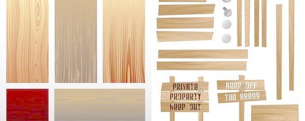 木板矢量素材 - 搜素材